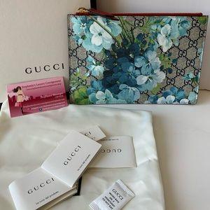 Gucci Blooms Zip Pouch/ Clutch